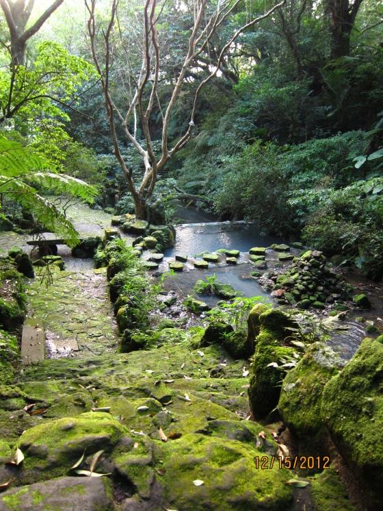 陽明山國家公園小瀑布